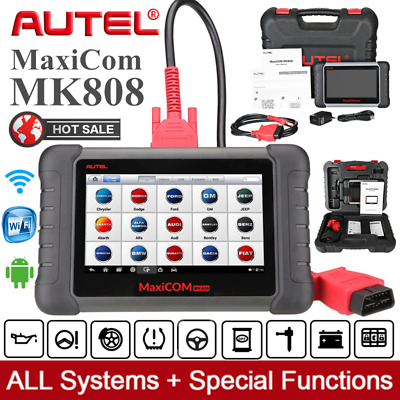 AUTEL MaxiCOM MK808 MX808 Car Diagnostic Tool Code Scanner EPB SAS IMMO For Benz