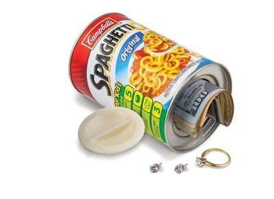 Spaghetti Secret Diversion Home Security Stash Can Hidden Money Safe Container