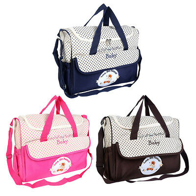 Mummy Maternity Baby Nappy Diaper Changing Bag Women Handbag Travel Shoulder Bag