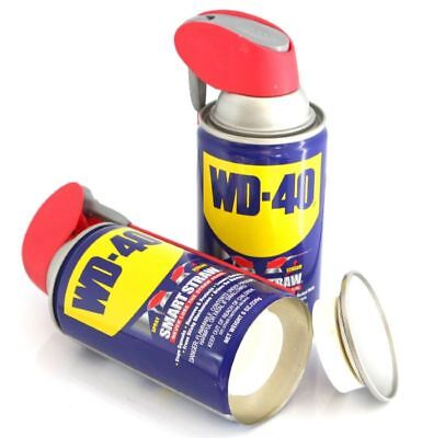 Real WD 40 Safe Can Home Security Secret Container Hidden Diversion Stash Box US