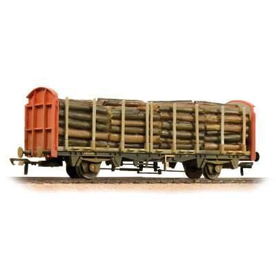 Bachmann 38-300A Güterwagen OTA timber carrier wagon Railfreight gealtert