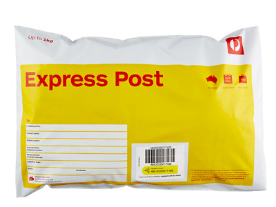 10 x 500g Express Satchel Aus Post Prepaid with Tracking