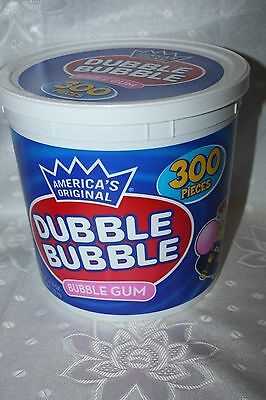 America's Original DUBBLE BUBBLE BUBBLE GUM 300 pieces 1.35kg box
