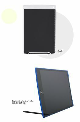 "New LCD e-Writer Tablet Writing Drawing Memo Message Black Boogie Board 12"" UK"