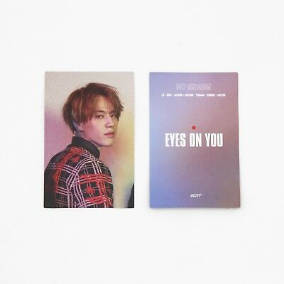 [GOT7]Eyes On You Album Official Photocard/ Purple ver. - YUGYEOM