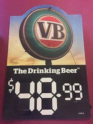 VB Beer Sign Pub Man Cave Collectable Home Brew