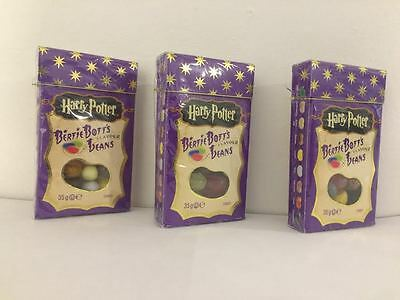 3X American Harry Potter Habas de Bertie Botts 34g By Jelly Belly Boozled Judía