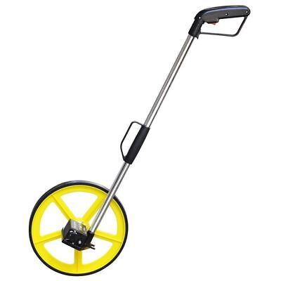 Foldable Distance Measuring Wheel With Stand & Bag Surveyors Builders Road Land