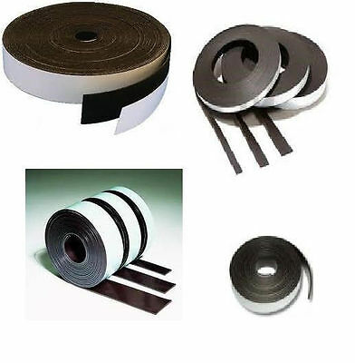 Magnet Band - Combi - Type A+ Type B - 1,5mm x 12,7mm x 5m