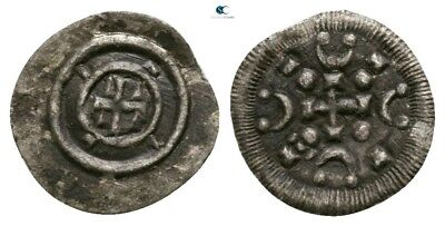Savoca Coins Medieval Silver Coin Cross 0,13 g / 10 mm §SAC6244