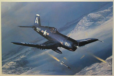 William S. Phillips - Time to Head Home - F4-U4 Corsair