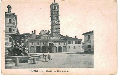 Postcard Italy Rome S Maria In Cosmedin Vintage