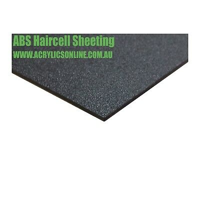 ABS Black Haircell Textured 3mm Sheets Various Sizes FREE Ship FAST Plastics