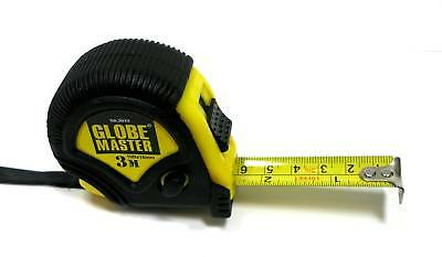 Globemaster 3 metre Tape Measure Measuring Tape (5010)