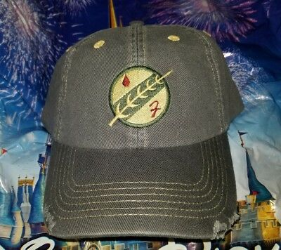 NEW Disney Parks Star Wars BOBA FETT Patch Baseball Hat Cap! Mandalorian  Crest ccdb473a2bf