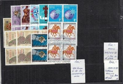 A310 LUXEMBOURG Mixed Selection of CANCELLED stamps