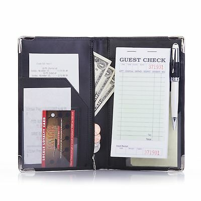 Deluxe Server Book Organizer for Restaurant Waiter Waitress Waitstaff | Comfo...