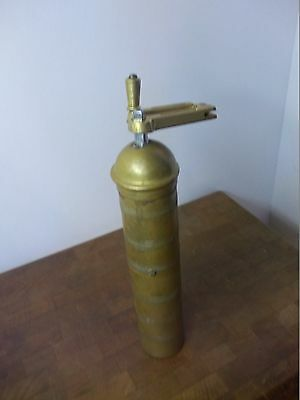 Antique Brass Ottoman Spice Mill Antique Made in Albania Pepper Coffee Grinder