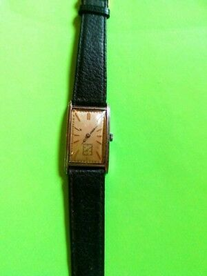 Antique Goldsmiths and Silversmiths Co Ltd Mens Wristwatch pre 1932 Gold Plated