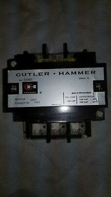 Cutler Hammer Contactor / C32KN3 / 200 Amp / 3 Phase / 480 Volt