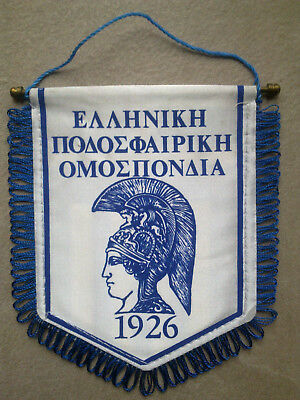 Pennant Greece - Soccer Association Hellas - Wimpel Fussballverband Griechenland