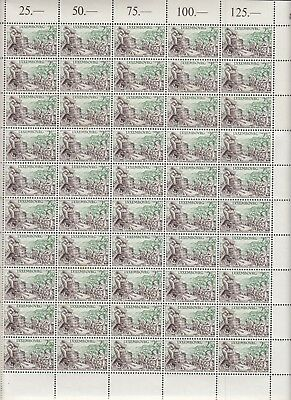 A323 LUXEMBOURG Viticulture MNH COMPLETE sheet