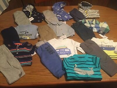 3-6 month carters boys clothes lot