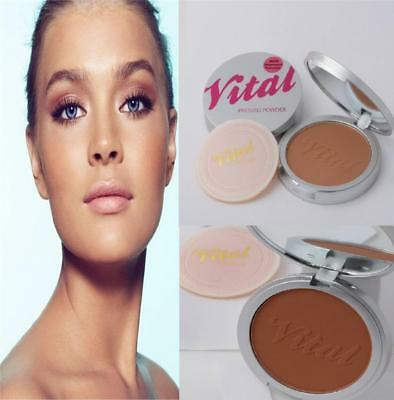 Vital Stay Matte Long Lasting Creme Puff Pressed Powder - Choose Your Shade