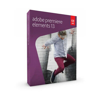 ADOBE Premiere Elements 13/EN MLP 65234195 Neu