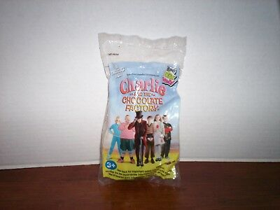 Wendy's CHARLIE AND THE CHOCOLATE FACTORY Kid's Meal Toy Oompa Loompa NEW
