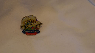 Pin / Anstecknadel-  Champion Family- Academy  -   Gebraucht- Top