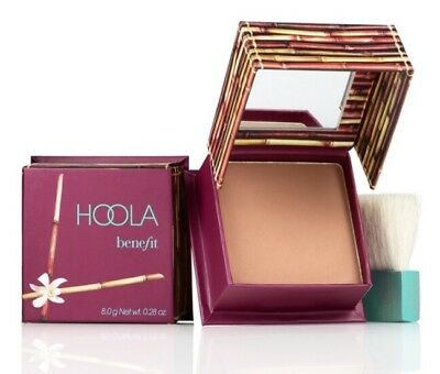 Benefit Hoola Bronzer Brush & Mirror 4g Travel Size Bronzing Powder FAST POST