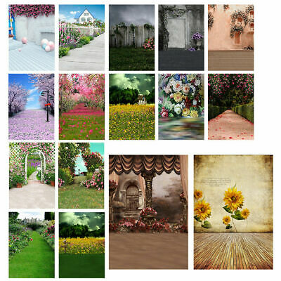 3x5/5x7ft Vintage Flower Wedding Photography Backdrops Baby Studio Photo Props