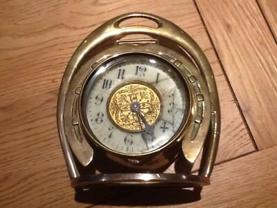 Vintage Brass Clock Spares or Repairs
