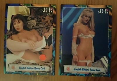 """HOT SHOTS 2 - """"Dare To Bare"""" - Limited Edition BonusCards 1 + 2!"""