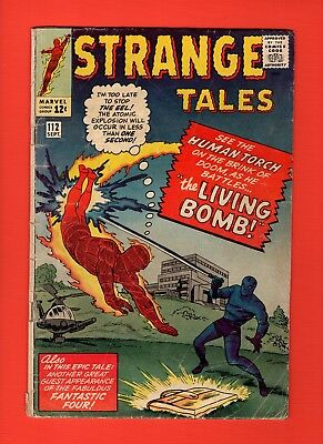 Strange Tales #112  -- Human Torch - 1st Appearance The Eel! -- -- GD/VG  cond.