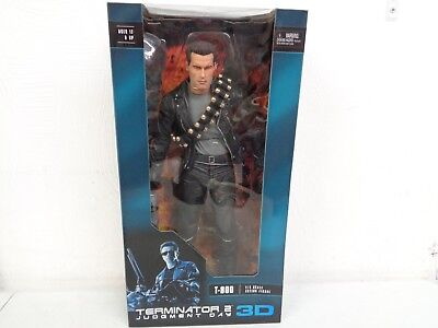 Neca Reel Toys Terminator 2 Judgment Day Day 3D T-800 1/4 Scale Figure New