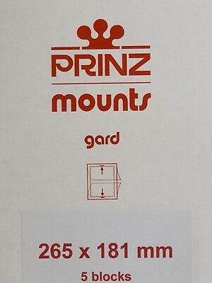 Prinz Stamp Mounts 265/181 - ***We Are A Veteran Supportive Business***