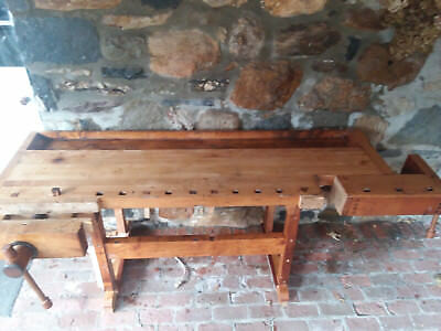Outstanding Antique Hammacher Schlemmer Work Bench Woodworking Kitchen Gmtry Best Dining Table And Chair Ideas Images Gmtryco