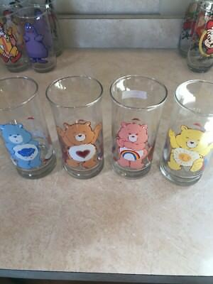 1983 Care Bear Pizza Hut Glasses