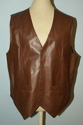Square Dance Vest - Men's - Brown by Scully