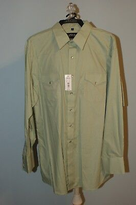 Square Dance Shirt - Men's, Sage Green, by White Horse