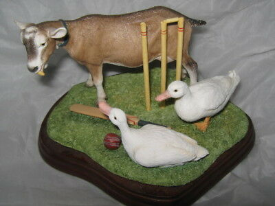 Border Fine Arts Studio James Herriot Collection Out For A Duck