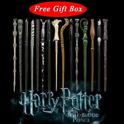New Harry Potter Magical Wands Cosplay Hermione Dumbledore Hogwarts Sticks Toys