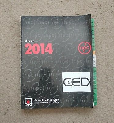 NFPA 70 2014 National Electrical Code (NEC) Softbound - Used w/ EX Tabs