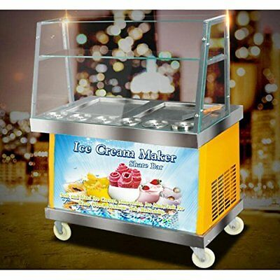 Commercial Ice Cream Maker Machine Fried Ice Cream Machine 110V