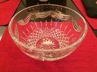 "NEW Waterford Crystal 10"" Prentiss Bowl NEW IN ORIGINAL BOX WAS WEDDING GIFT."