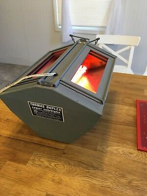 Thomas Duplex Super Safelight - In working order, includes filters as well!