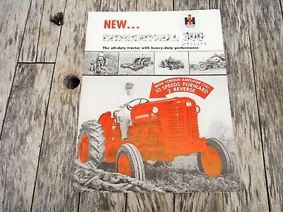 Vintage New International Harvester 300 Utility Tractor Brochure