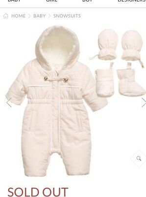 chloe Baby All In One Snow Suit